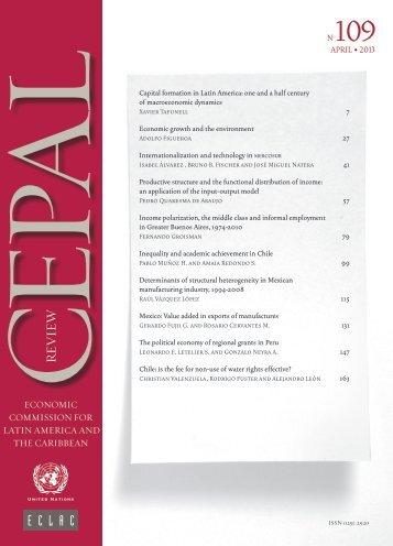 CEPAL Review Nº109