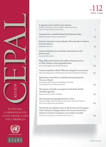 CEPAL Review Nº112