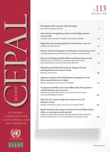 CEPAL Review Nº113