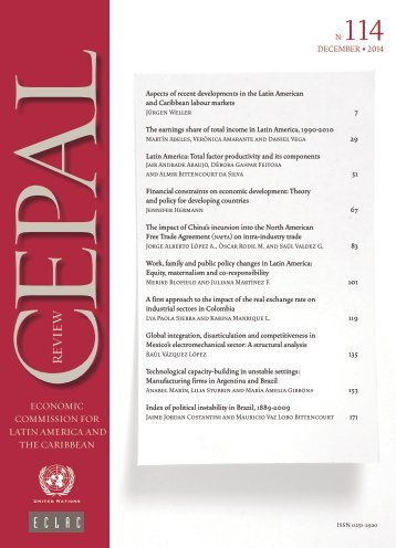 CEPAL Review Nº114
