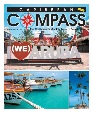 Caribbean Compass Yachting Magazine August 2015