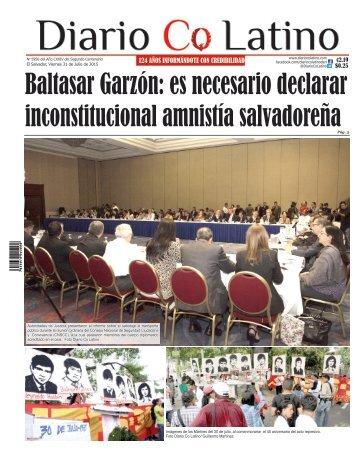 Edición 31 de Julio de 2015