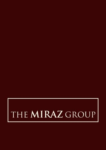 The Miraz Group - Apresentação Institucional