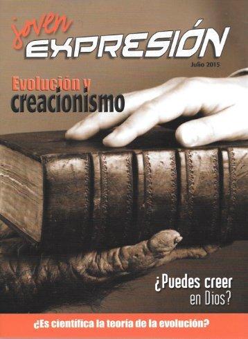 Expresión Joven Julio 2015 - Evolución y creacionismo