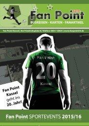 Fan Point Sportevent 2015/16 Flyer