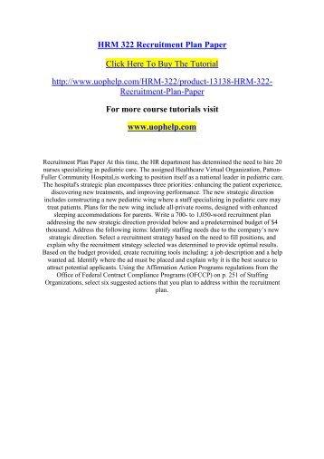 Patton-Fuller Sensitivity Analysis Essay Sample