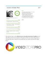 Video Store Pro  REVIEW & Video Store Pro  (SECRET) Bonuses.pdf