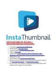 InstaThumbnail review-InstaThumbnail (MEGA) $21,400 bonus