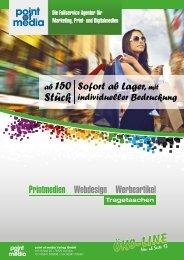 Tragetaschen-Prospekt - point of media Verlag