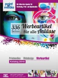 Werbeartikel-Katalog 2015 - point of media Verlag