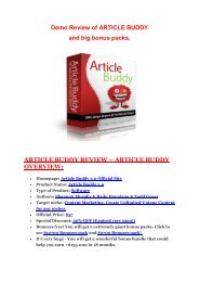 Article Buddy 3.0 REVIEW - DEMO of Article Buddy 3.0.pdf