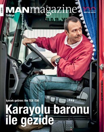 MANmagazine Truck Türkiye 1/2015