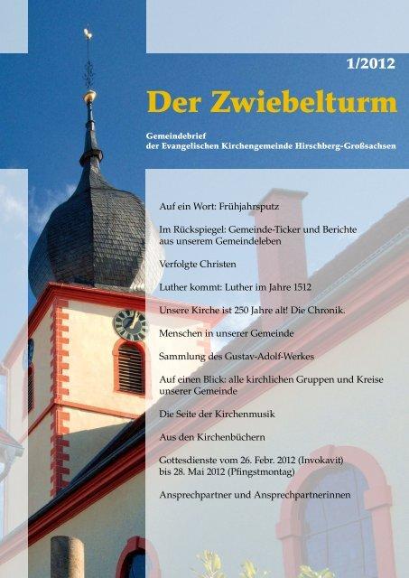 Ausgabe 1-2012 - derzwiebelturm.de