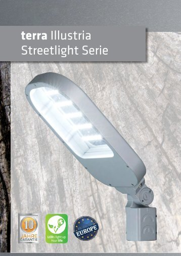 terra Illustria Streetlight Serie -Skalierbarkeit, erweiterte Version. (by BAB-LIGHTING)