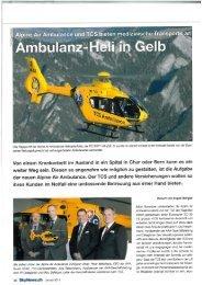 Von einem Krankenbett im Ausland in ein Spital in Chur oder Bern ...