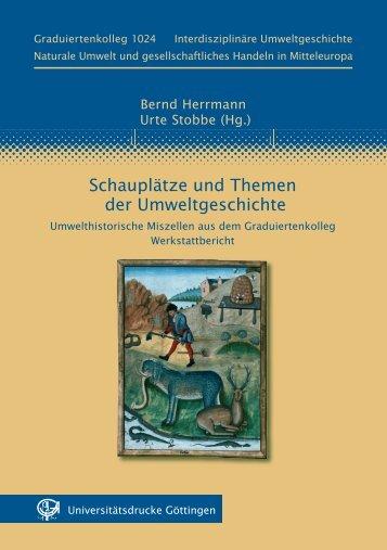 Schauplätze und Themen der Umweltgeschichte ... - oapen
