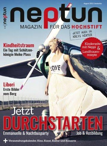Neptun Magazin August 2015