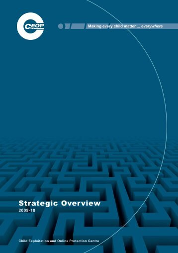 CEOP Strategic Overview 2009-10
