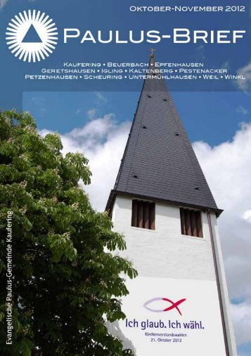 Evang.-Luth. Pauluskirche Kaufering