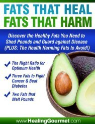 Fats That Harm, Fats That Heal - The Food Cure