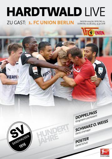 Hardtwald Live, Heft 1, Saison 2015/16