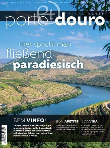 Das Porto & Douro Magazin