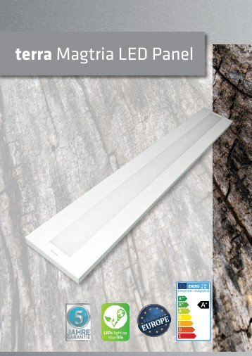 terra Magtria LED Panel (by BAB-LIGHTING)