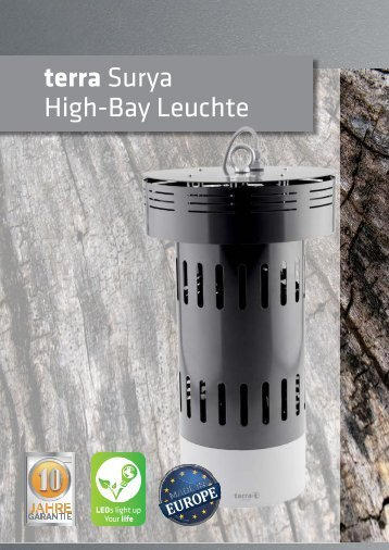 terra Surya LED High Bay Leuchte (by BAB-LIGHTING)