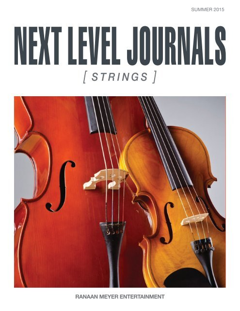 Next Level Journals Strings Summer 2015