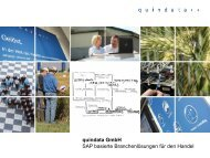Unternehmenspräsentation quindata
