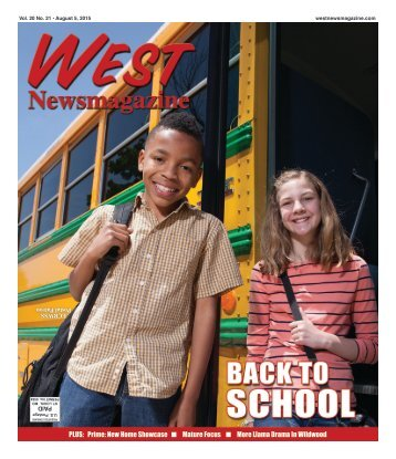 West Newsmagazine 8/5/15