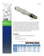 Catálogo Lamparas Alta Presion - Page 4