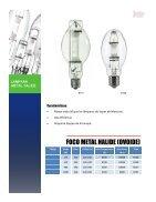 Catálogo Lamparas Alta Presion - Page 6