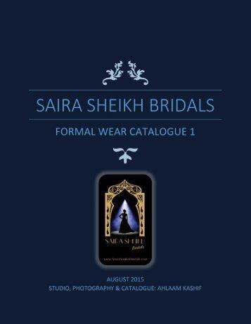 SAIRA SHEIKH BRIDALS ONLINE CATALOGUE BY AHLAAM KASHIF