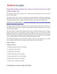 Global RJ 45 Plugs Market Size, Share, Growth & Forecast to 2015 radiant Insights, Inc.pdf