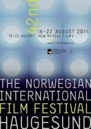 Den Norske Filmfestivalen - Hovedkatalog 2014
