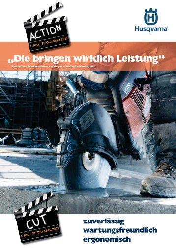 BAUDIENST Prospekt Husqvarna Sommeraktion 2012 • Telefon ...