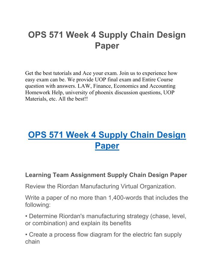 process design matrix and summary ops Process design matrix and summary ops 571 week 1 complete the process design matrix develop a 700-word executive summary in which you identify appropriate design approaches for the selected product and service used in the process design matrix differentiate the service process and the manufacturing process explain the reasons for the differences.