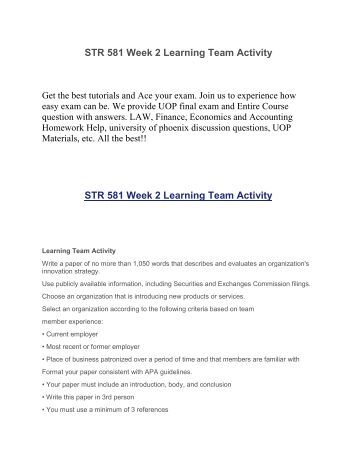 research proposal strategic plan str 581 Str/ 581:research proposal 1 write a proposal of no more than 750 words, outlining the research approach you will use for your strategic plan, due in week 6 include the following: how you.