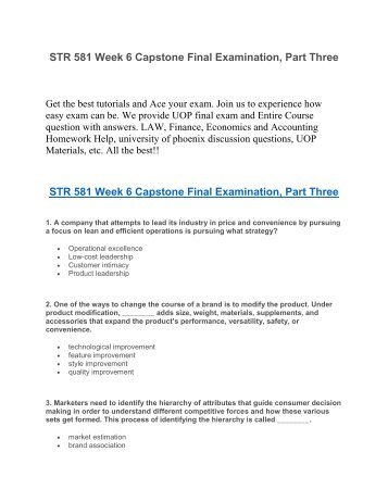 str 581 week 6 assignment Str 581 new week 2 individual assignment research proposaldocx  str  581 week 6 individual assignment strategic plan and presentation this tutorial .