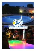 Leave your jetty, garden pond or swimming pool at night Bright and colorful enlighten the Yachtlights Underwater light Lagoa .. - Page 2