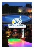 Lassen Sie ihren Anlegesteg, Gartenteich oder Pool in der Nacht strahlend bunt mit der Yachtlights Unterwasserleuchte Lagoa erleuchten..   - Page 2