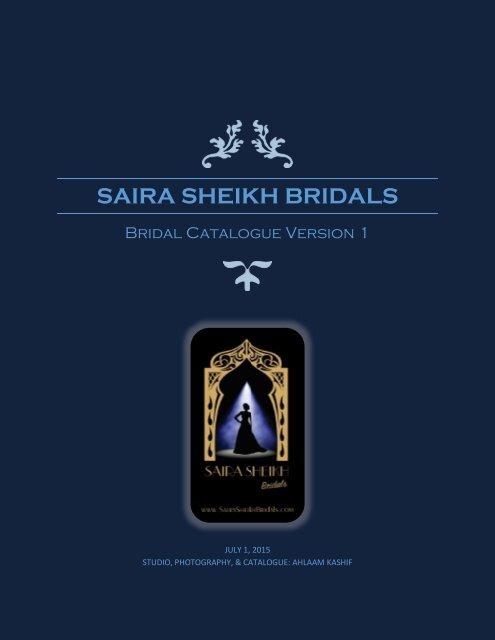 Saira Sheikh Bridal Catalogue Version 1