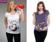 Make your pregnancy funnier with Funny Maternity Bump T Shirts.pdf