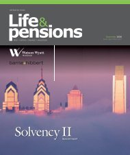 pensions - Barrie & Hibbert