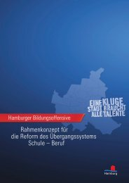 Rahmenkonzept für die Reform des Übergangssystems ... - Hamburg
