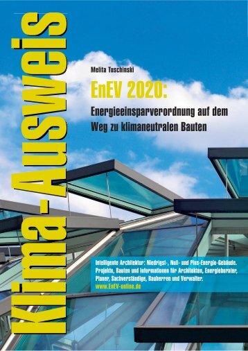 EnEV 2020: Energieeinsparverordnung auf dem ... - ENEV-Online.de