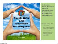 Simple Gifts and Prevention for Everyone: - t:www.paxtalk.com