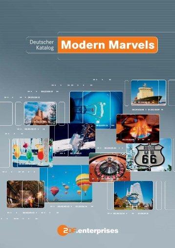 Modern Marvels - ZDF Enterprises