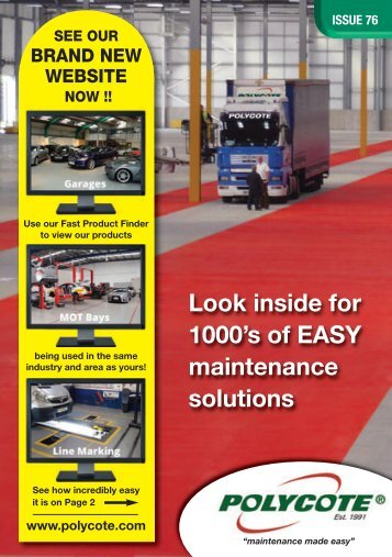 Look inside for 1000's of EASY maintenance solutions